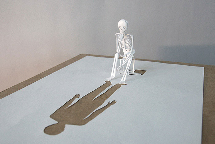 20 Sculptures Cut from a Single Piece of Paper