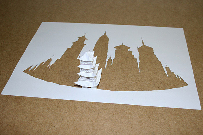 papercraft art from one sheet of paper peter callesen 15 20 Sculptures Cut from a Single Piece of Paper
