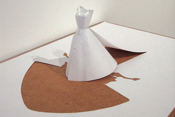 How To Make Bride And Groom Origami