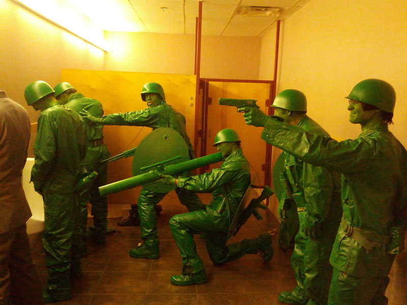 plsatic green army men halloween costume The 40 Best Halloween Costumes of 2012