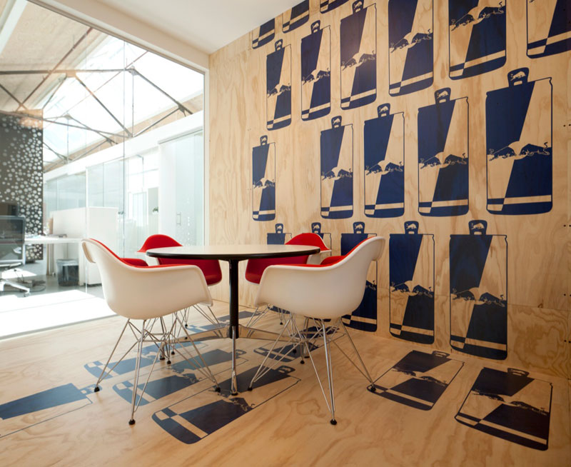 red bull office. Red Bull Office Amsterdam Netherlands Sid Lee Architecture 13 Amsterdams Shipping Yard [