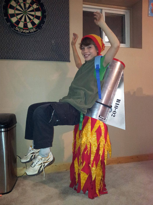 rocket man halloween costume the 40 best halloween costumes of 2012 - Superbad Halloween Costumes