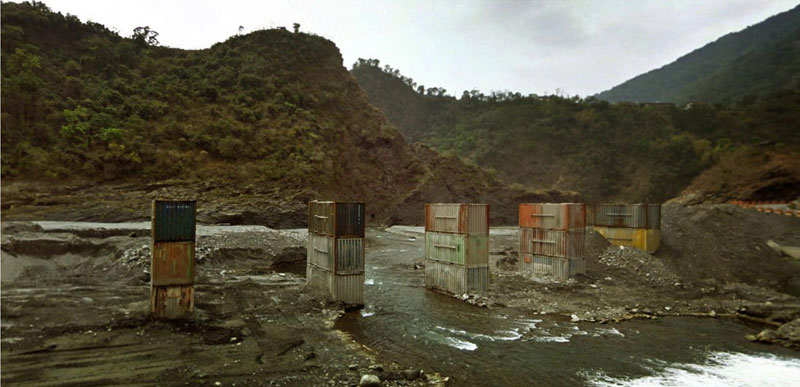 shipping container bridge taiwan aaron hobson google street view Exploring the World through Google Street View