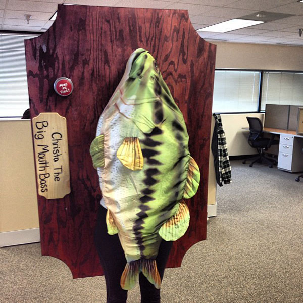 singing big mouth bass The 40 Best Halloween Costumes of 2012