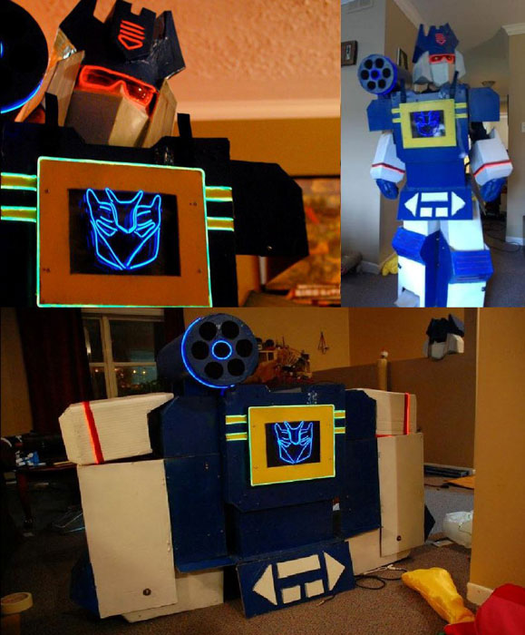 soundwave transformer boombox halloween costume The 40 Best Halloween Costumes of 2012