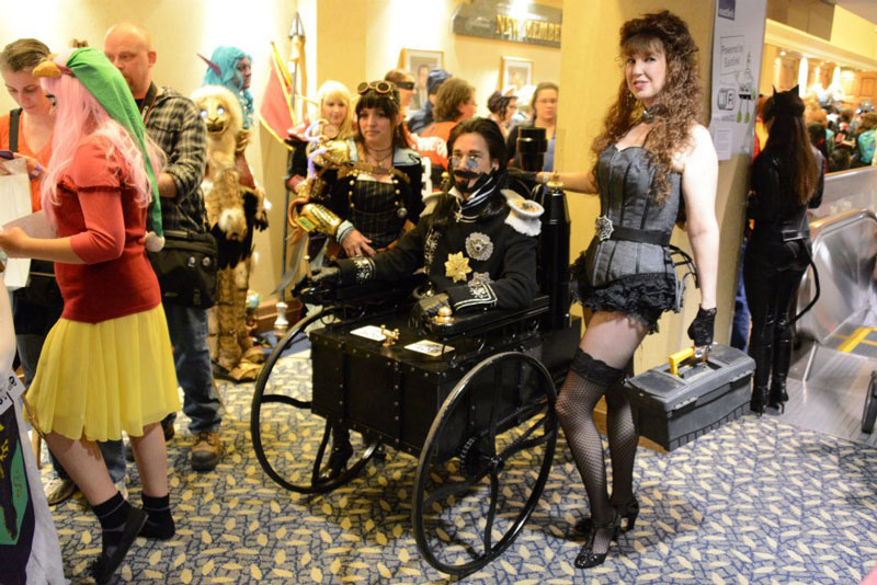 steampunk wild wild west halloween costume The 40 Best Halloween Costumes of 2012