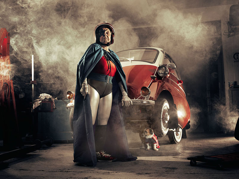 superhero grandmother mamika by sacha goldberger 1 Mamika the Superhero Grandma