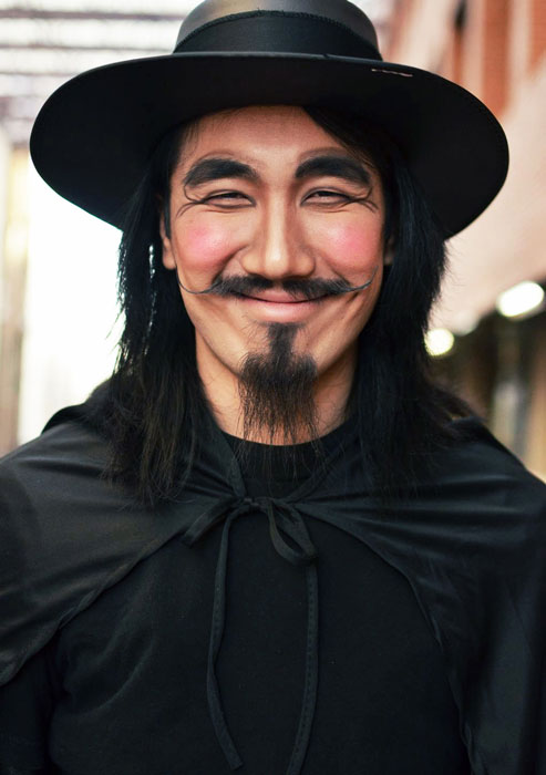 v for vendetta no mask halloween costume The 40 Best Halloween Costumes of 2012
