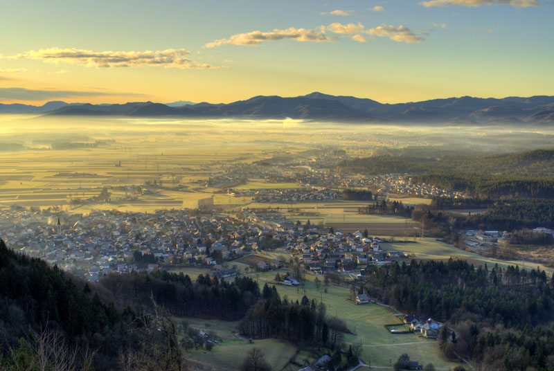Picture of the Day: The View from Smarjetna Gora, Slovenia