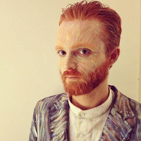 vincent van gogh halloween costume The 40 Best Halloween Costumes of 2012
