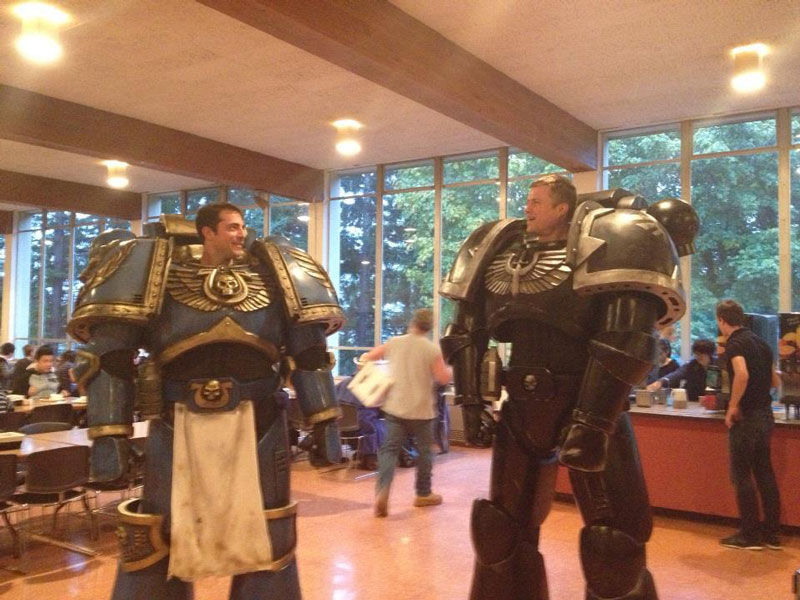 warhammer halloween costume The 40 Best Halloween Costumes of 2012