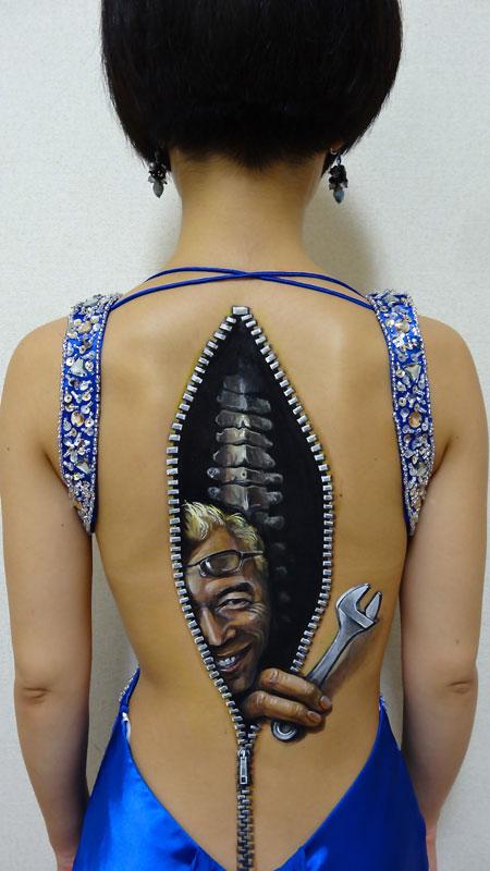 3d acrylic body paintings by hikaru cho (11)