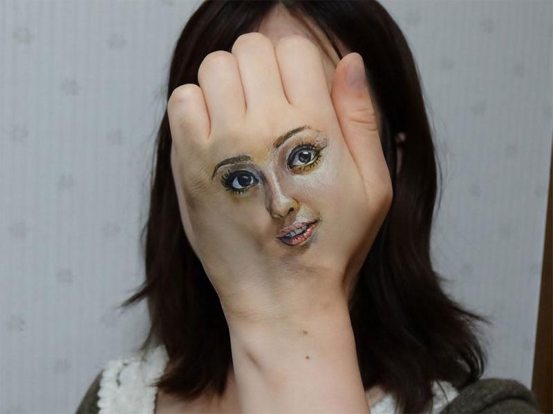 3d acrylic body paintings by hikaru cho (2)
