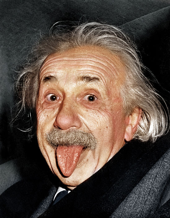 albert einstein colorized Adding Color to Historic Photos [20 pics]