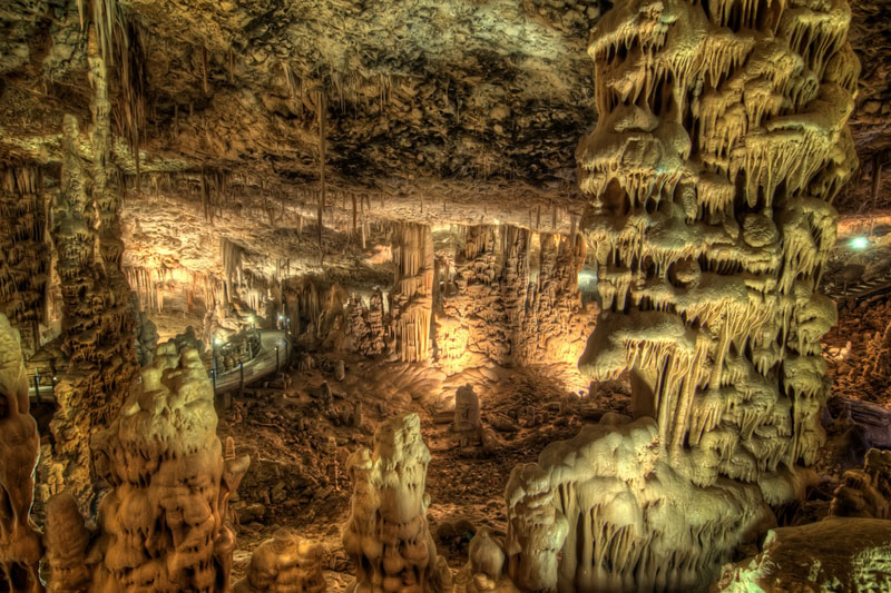 The Soreq Stalactite Cave in Israel