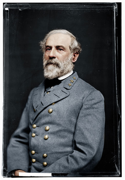 black and white american civil war photo in color Adding Color to Historic Photos [20 pics]