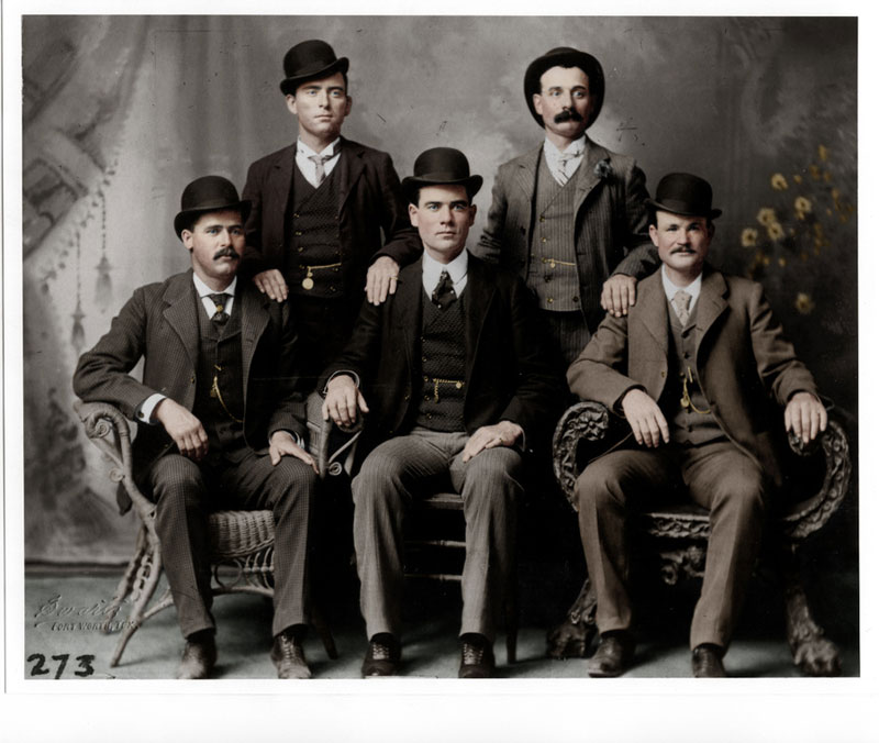 butch cassidy and the wild bunch colorized The Photos That Inspired Norman Rockwells Paintings