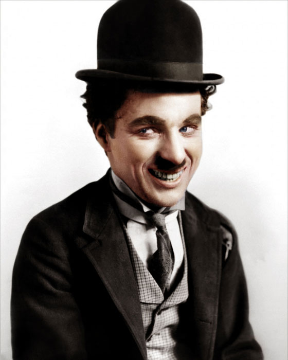 charlie chaplin color photo Adding Color to Historic Photos [20 pics]