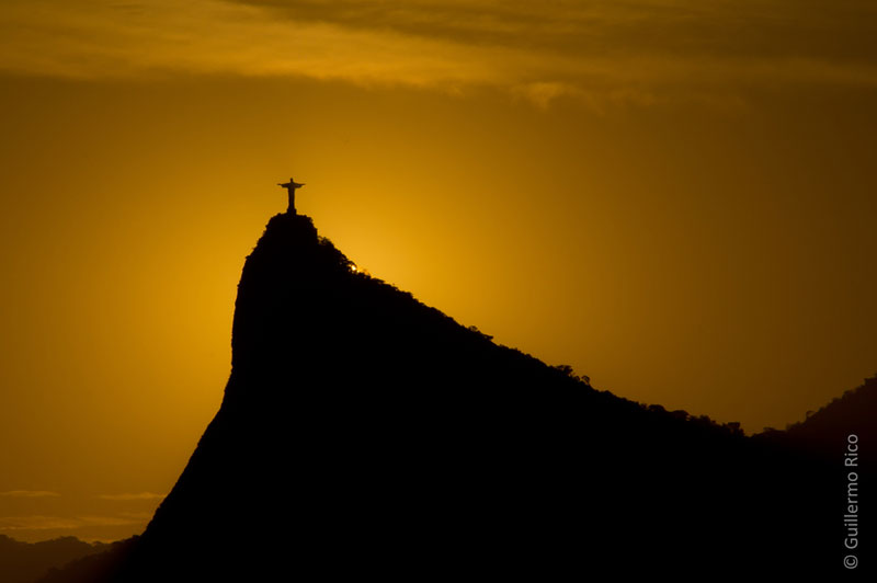 Picture of the Day: The Redeemer at Sunset