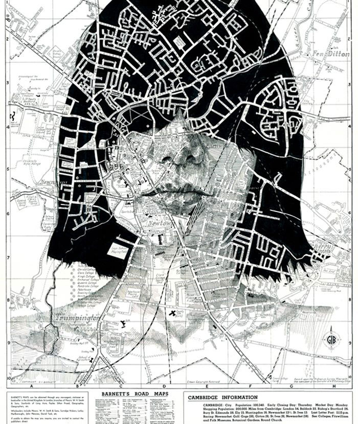 faces drawn onto maps by ed fairburn (3)