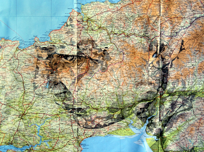 faces drawn onto maps by ed fairburn (7)