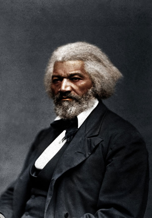 frederick douglas color photo Adding Color to Historic Photos [20 pics]