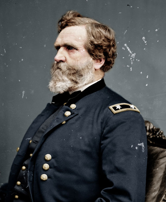 george henry thomas colorized photo Adding Color to Historic Photos [20 pics]