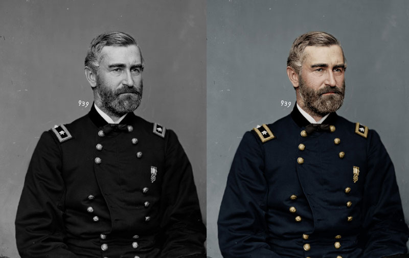 gershon mott colorized Adding Color to Historic Photos [20 pics]