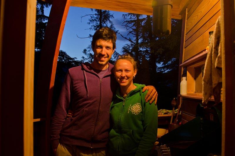HemLoft secret treehouse hiding in the woods of whistler canada (10)