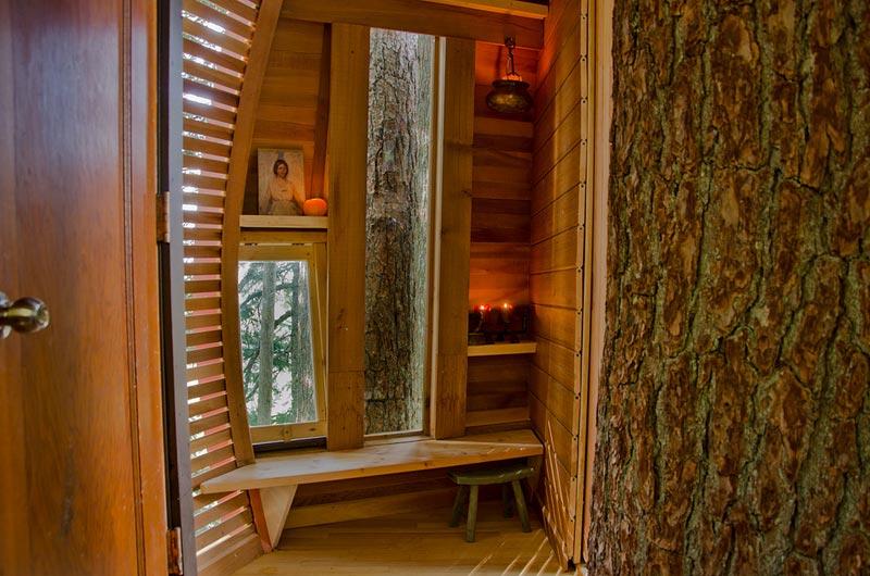 HemLoft secret treehouse hiding in the woods of whistler canada (12)