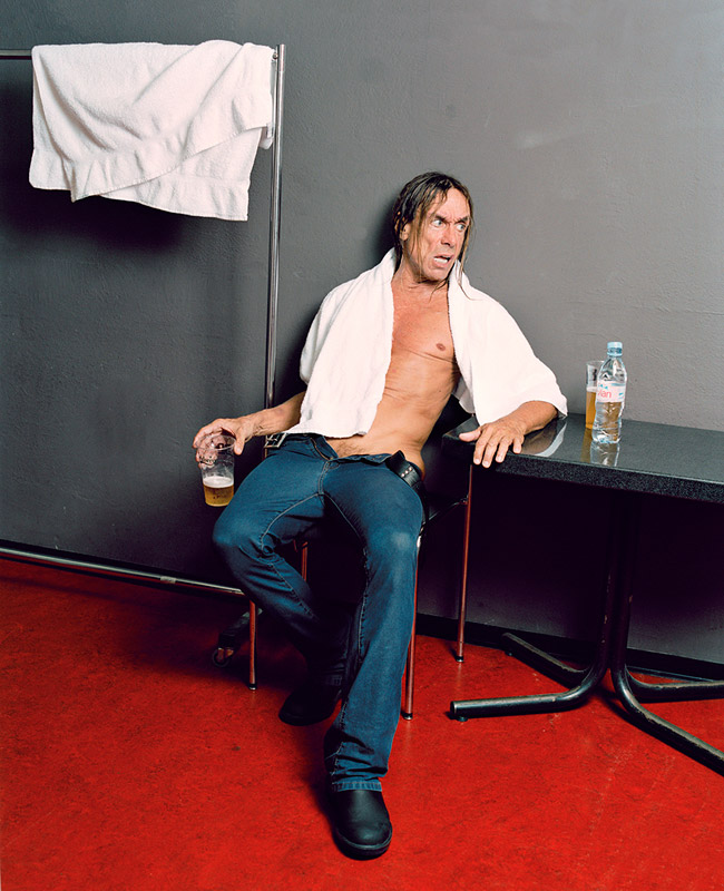 iggy pop the moment after the show matthias willi olivier joliat Portraits of Fans Emulating their Idols at Concerts