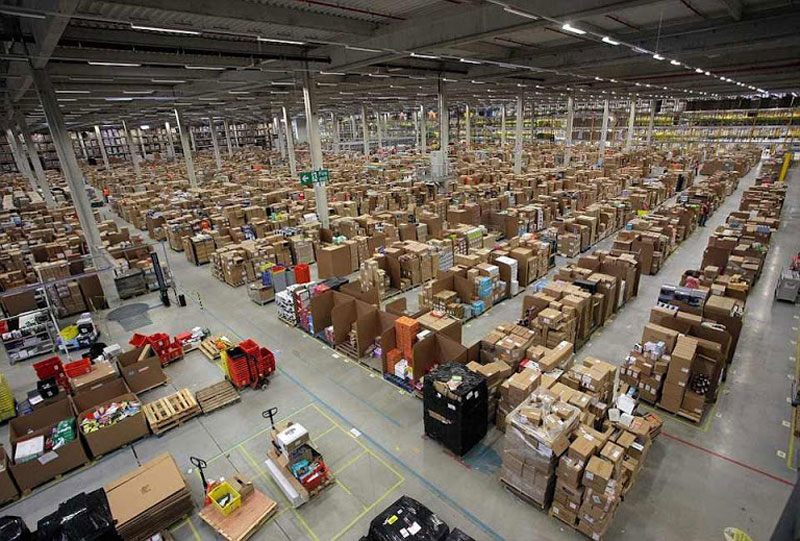 Inside Amazon's 'Chaotic Storage' Warehouses