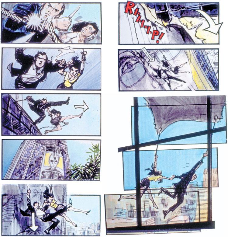 james-bond-tomorrow-never-dies-storyboard-by-Martin-Asbury