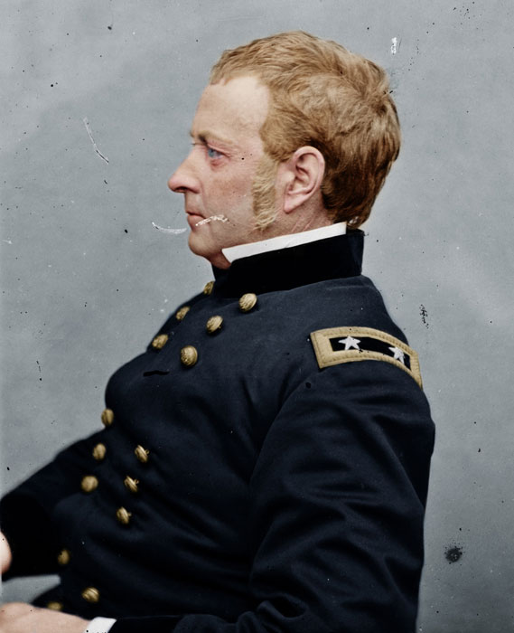 joseph hooker colorized Adding Color to Historic Photos [20 pics]