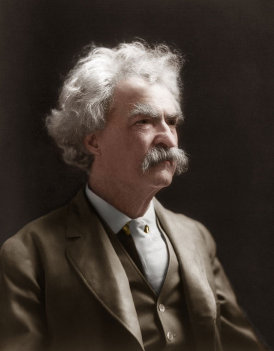 mark twain colorized Adding Color to Historic Photos [20 pics]