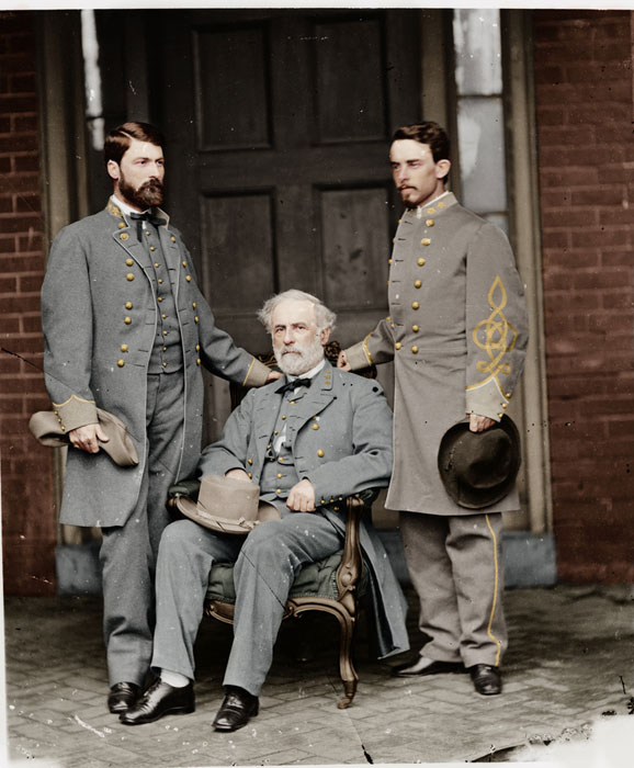 old civil war photo colorized Adding Color to Historic Photos [20 pics]