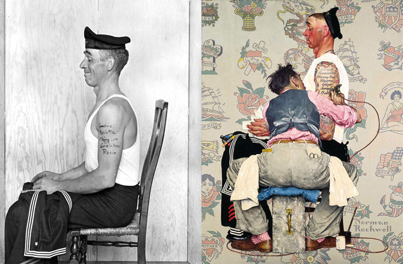 photographs of famous norman rockwell paintings (3)