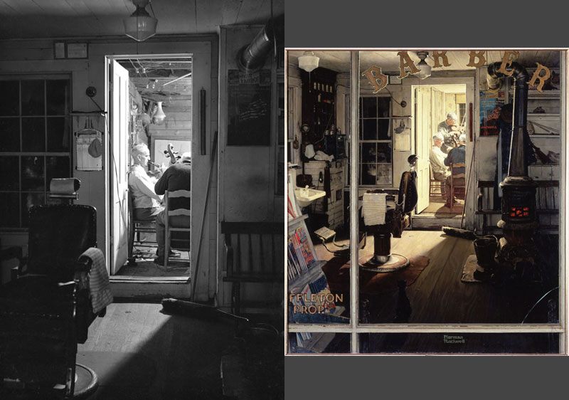 photographs of famous norman rockwell paintings (4)