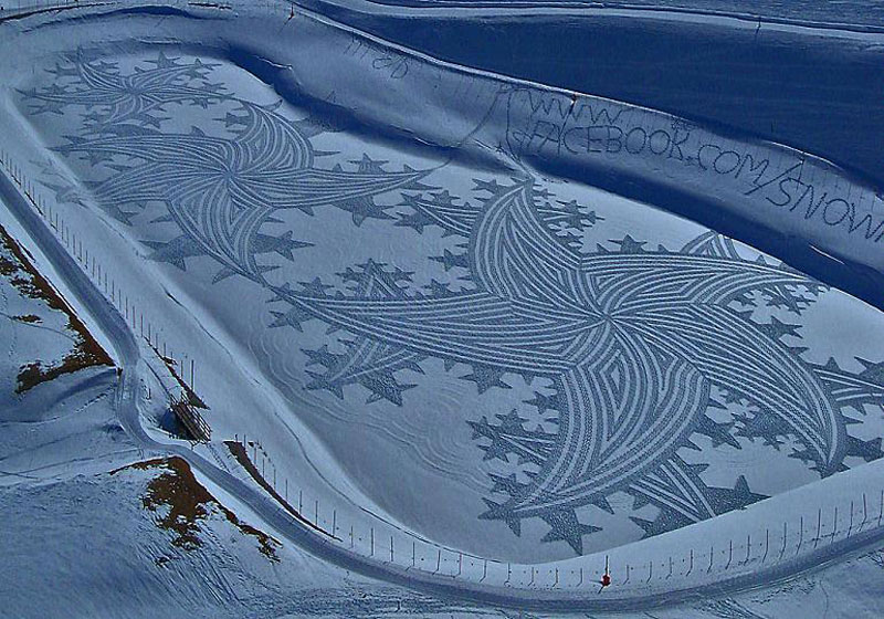 snowshoe land art simon beck (16)