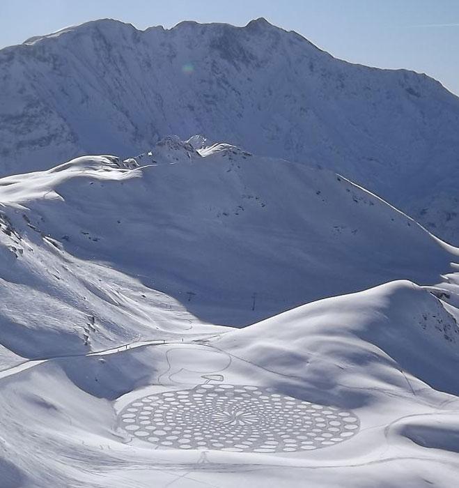 snowshoe land art simon beck (8)