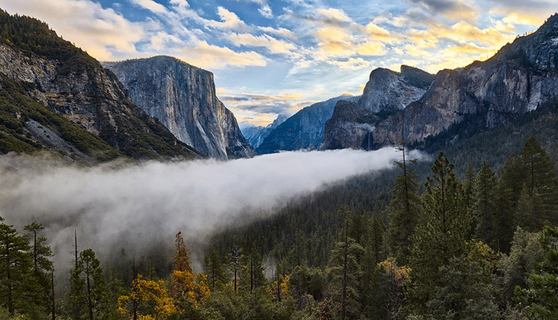 valley fog in yosemite david kingham Picture of the Day: Valley Fog in Yosemite