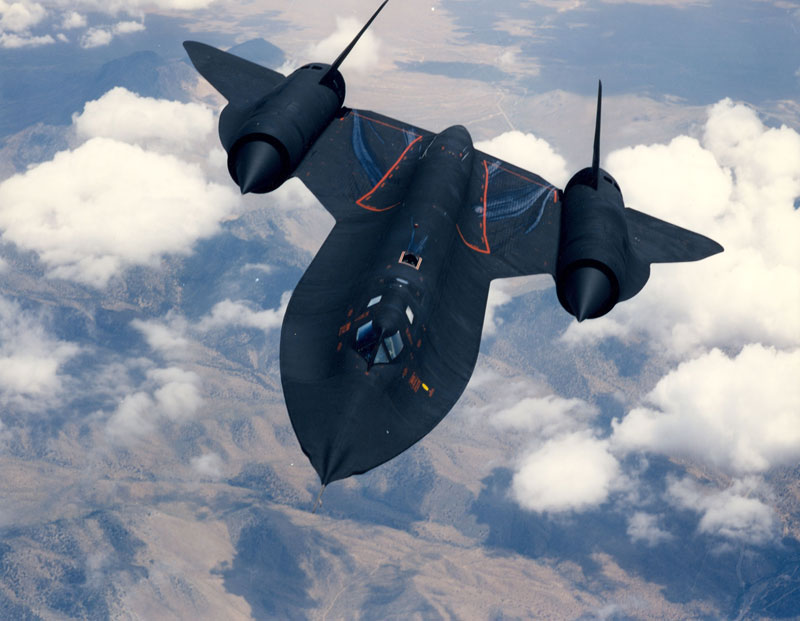 worlds fastest plane lockheed sr-71 blackbird (4)
