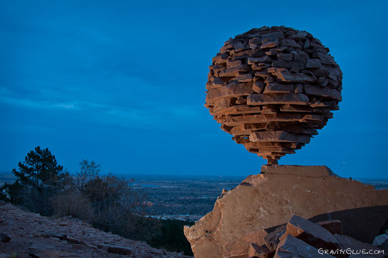 art of rock balancing by michael grab gravity glue 13 Couple Creates the Most Beautiful Stone Walls Ever