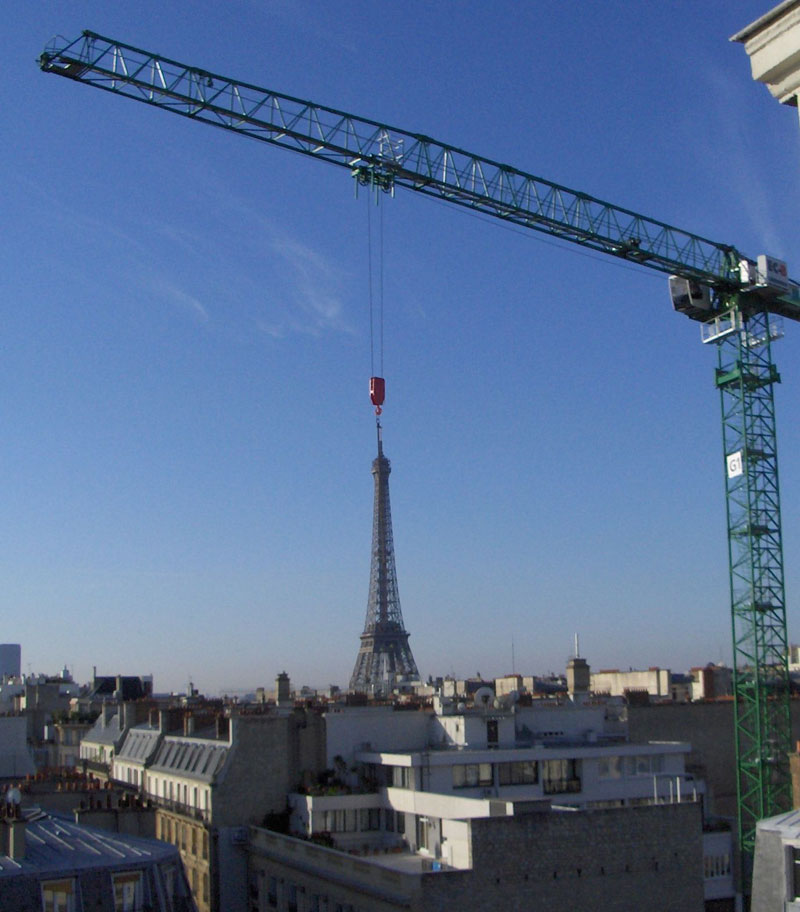 Picture of the Day: Moving the EiffelTower