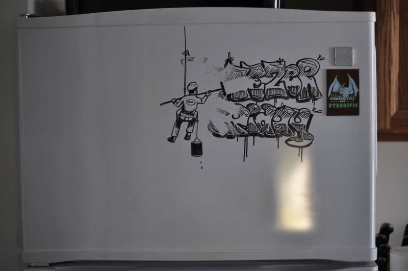 fridge drawings charlie layton freezer fridays (12)