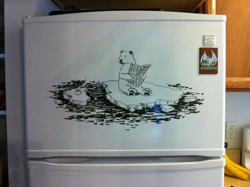 fridge drawings charlie layton freezer fridays (2)