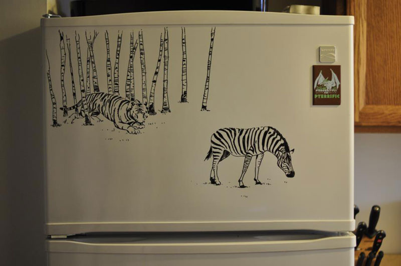 fridge drawings charlie layton freezer fridays (3)