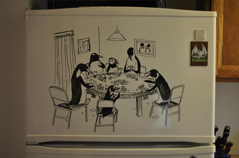 fridge drawings charlie layton freezer fridays (6)