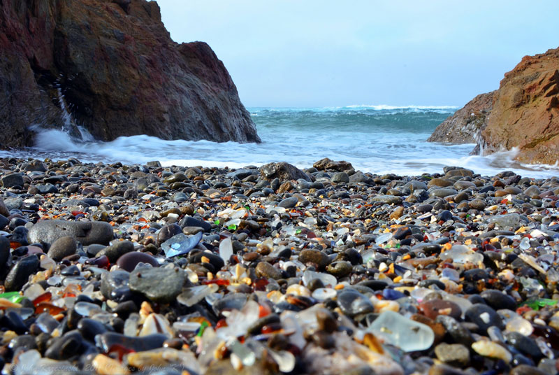 glass beach mackerricher park fort bragg california 1 Mexicos Hidden Beach at Marieta Islands