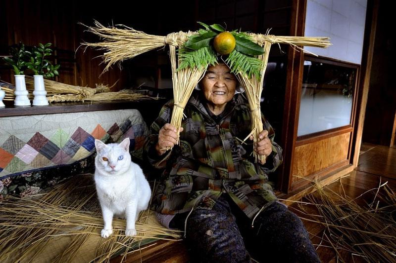 japonés abuela y su gato miyoko ihara (19)